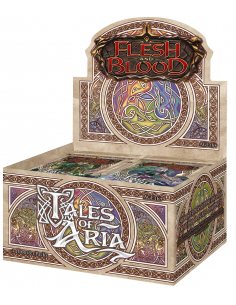 Tales of Aria Booster Box - First Edition - Flesh & Blood