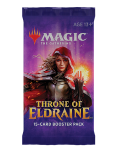 Throne of Eldraine booster...