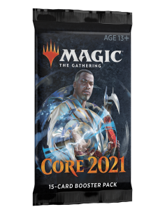 Core Set 2021 booster pack...