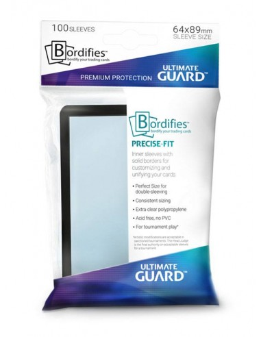 Bordifies Precise-Fit 100 sleeves -...