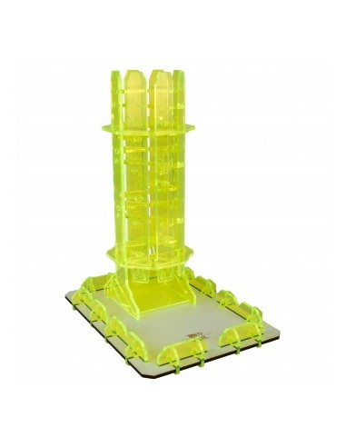 Peridot Twister - Dice Tower - Blackfire