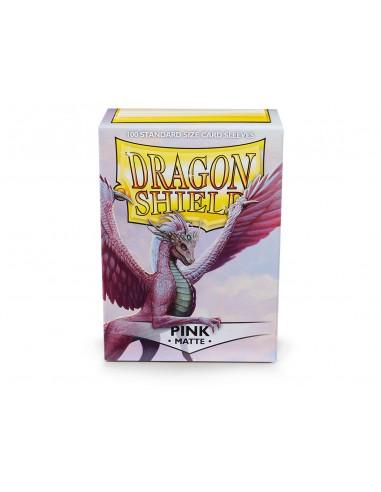 100 Matte Dragon Shield Plastiklommer...