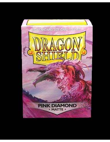 Matte Dragon Shield - 100 stk. -...