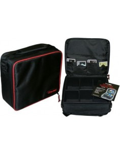 Gaming Case with Red Trim -...
