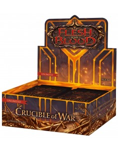 Crucible of War Booster Box - Unlimited - Flesh & Blood